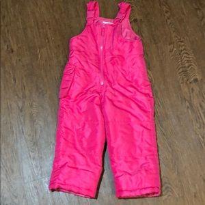 Toddler girl London fog bib pants 3T
